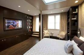 modern bedroom with tv. Modern Bedroom With Tv