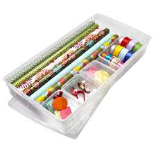 Q U0026 A Gift Wrap Storage Container8
