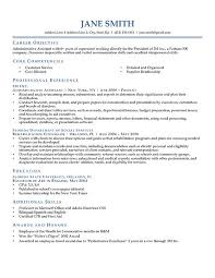Objectives For A Resume