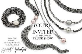 lizabethjewelry julian gold midland trunk show tomorrow and friday looking forward julian gold midland trunk show tomorrow and friday