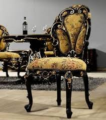black baroque dining chair unique furniturehome