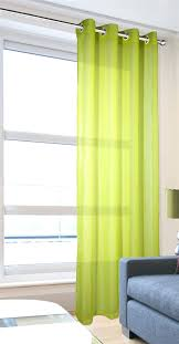 lime green curtains lime eyelet linen texture voile curtain panel lime green grommet blackout curtains