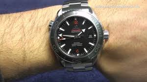 ocean by size omega seamaster planet ocean big size youtube