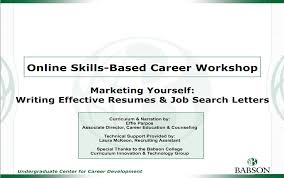 Resume Cover Letter Resumes Cover Letters and More Career Development Babson College 68