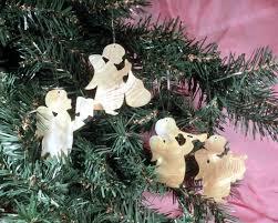 Weihnachtsdeko Baumschmuck Echtem Aus Engel Advent Perlmutt