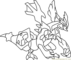 Small Picture Kyurem Pokemon Coloring Page Free Pokmon Coloring Pages