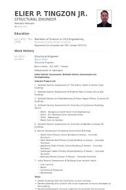 Sample Engineering Resume Stunning Civil Structural Engineer Resume Civil Structural Engineer Resume