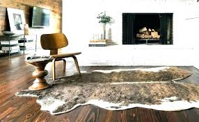 white faux cowhide rug fake cowhide rug animal white faux cowhide area rug brown and white