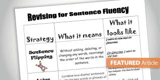 Developmental Sentence Scoring Chart 6 Traits Of Writing Professional Development By Smekens