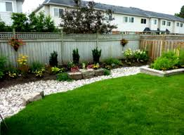 Small Picture Backyard Landscaping Ideas On A Budget Inspirations Also Small
