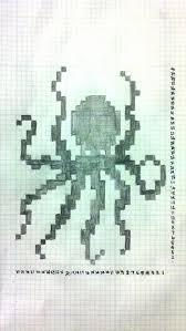 Ravelry Octopus Chart Pattern By Sarah Kelly Cross Stitch