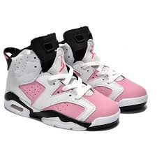 jordan shoes for girls 2014 black and white. kids jordan 6 retro white black pink ($51) ❤ liked on polyvore featuring shoes for girls 2014 and