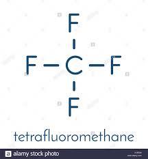 Tetrafluoromethane Carbon Tetrafluoride Cf4 Greenhouse