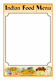 Indian Restaurant Roleplay Resources Printables For Early Years