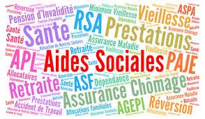 """Quelles sont les aides sociales ? sécurité sociale prestation rsa indémnité"""""""