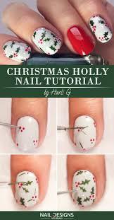 10 Christmas Nail Art Tutorials To Master   NailDesignsJournal.com