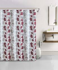burgundy shower curtain sets. save 25% shower curtain- 13pc waffle texture set with rollerball hooks- sydney red burgundy curtain sets