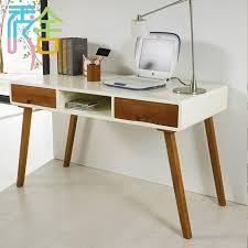 korean study show homes modern minimalist wood desk with drawers ikea computer desk 1 2 m nordic desk in computer desks from furniture on aliexpress com