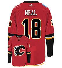 Flames Jersey Calgary Home Calgary Flames Home