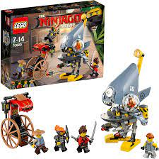 THE LEGO NINJAGO MOVIE Piranha-Angriff 70629 Unterhaltungsspielzeug: Amazon.de:  Spielzeug