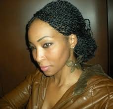 Kinky Twist Hairstyles This Short Video Shows You How To Do Kinky Twist Braids And Look