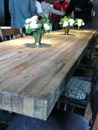 diy wood table topper