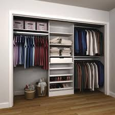 Wood closet shelving Ventilated Modifi 15 In 120 In 84 In Melamine Nima Fadavi Modifi 15 In 120 In 84 In Melamine Reachin Closet