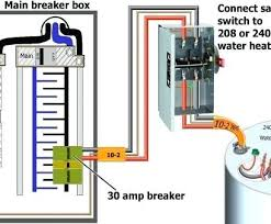 Water Heater Breaker Size Chart 30 Amp Switch Water Heater Historiasdelmundo Co