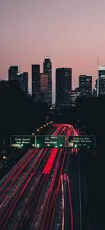 iPhone-wallpaper-road-los-angeles ...