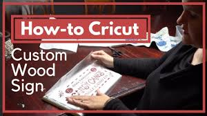 how to make a wood sign with a cricut craft tutorial homesteadhow com