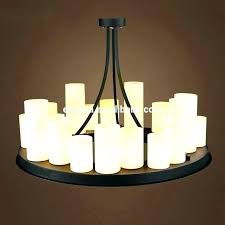 faux candle chandelier for popular household fake designs diy outdoor 6 candle chandelier
