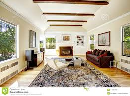 living room vaulted. royaltyfree stock photo download vaulted ceiling with brown beams in living room