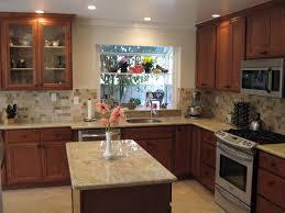 Medium Brown Kitchen Cabinets Granite Countertop Colors Hgtv Medium Brown Kitchen Cabinets
