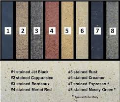 firebrick stain colors