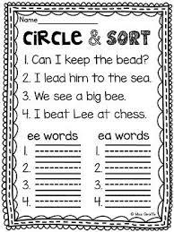 Phonics online worksheet for grade 4 elemental. Pin On Long Vowels