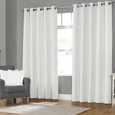 white eyelet curtains fully lined eyelet curtains white lined blackout curtains
