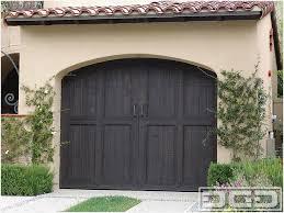 how to stain wood garage doors comfy tuscan garage door 11
