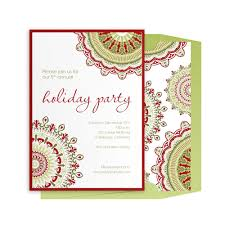 christmas luncheon invitation template