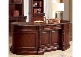 desk oval office. Roosevelt Cherry Oval Office Desk,Furniture Of America Desk