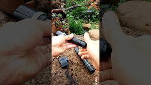 Đèn Pin Sinh Tồn Kiêm Tự Vệ TL03 Dài 30cm có giấu Dao 0962738673 - YouTube