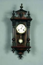 wall clocks wooden pendulum wall clock wood vintage clocks suppliers antique with r a regulator cl