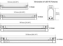 Fluorescent Light Chart Light Bulb Sizes Chefie Info