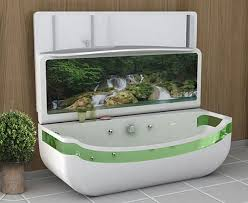 sub tub is a whirlpool bathtub tv and sink all in one