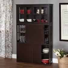 Living Room Cabinets With Glass Doors Wood Cabinet Glass Doors Stackable Storage Living Room 57jpg