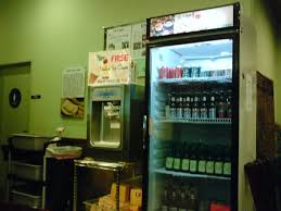 Self Serve Ice Vending Machines Inspiration Selfserve Ice Cream [too Bad The Alcohol In The Fridge Is Not