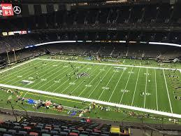 Superdome Section 611 New Orleans Saints Rateyourseats Com