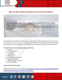 Data Broker Data Broker Market Dynamics Forecast And Analysis By Hexareports