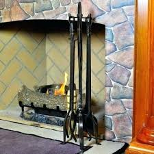wrought iron fireplace tools pilgrim 5 piece old world tool set forged iron wrought iron fireplace