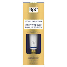 roc retinol correxion daily moisturizer with sunscreen spf 30
