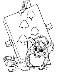 Furbies Vind En Print Bliksemsnel Een Kleurplaat Ukkonl